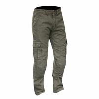 NEW MERLIN PORTLAND KEVLAR® LINED CARGO JEANS REINFORCED INC REMOVABLE CE ARMOUR