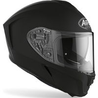 AIROH SPARKS MATT BLACK SPORTS TOUR MOTORCYCLE ROAD HELMET WITH INTERNAL VISOR