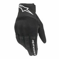 NEW ALPINESTARS COPPER SPORTS FABRIC SOFT FIT GLOVES PREMIUM QUALITY GREAT VALUE