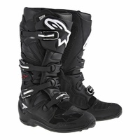 NEW ALPINESTARS TECH 7 MX MOTOCROSS OFF ROAD ADULT BOOT BLACK