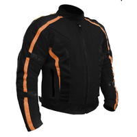 CHICANE SUMMER MESH SUMMER TEXTILE JACKET ORANGE