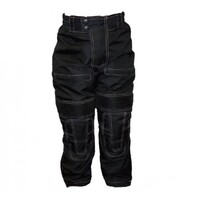 NEW KIDS WATERPROOF MOTORCYCLE TEXTILE PANTS WITH LINER