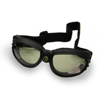 EMGO BANDITO MOTORCYCLE GOGGLE WITH SMOKE ANTI FOG LENS