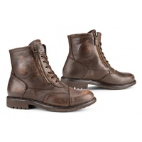 FALCO AVIATOR URBAN STREET LEATHER MOTORCYCLE BOOT WATERPROOF