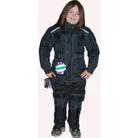 KIDS TEXTILE MOTORCYCLE WATERPROOF JACKET AND PANT COMBO 2 PC