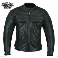 NEW MENS STURGIS MOTORCYCLE SOFT LEATHER JACKET