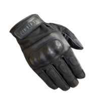 NEW MERLIN CRUISER RETRO RANTON WAX COTTON MOTOCYCLE GLOVES WATERPROOF BELSTAFF