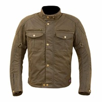 NEW MERLIN CLASSIC RETRO SANDON WAX COTTON MOTORCYCLE JACKET BELSTAFF STYLE