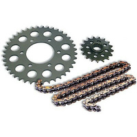 SUZUKI RMZ250 CHAIN AND SPROCKET KIT 2007-2012 STEEL 12/50 WITH GOLD CHAIN