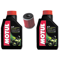 YAMAHA YZ250F SERVICE KIT MOTUL 5100 10W40 OIL AND K&N FILTER 2003-2017