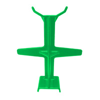 PLASTIC DIRT BIKE MOTORCYCLE FORK SEAL SAVER GREEN 293mm LONG