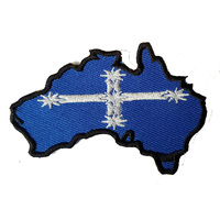 AUSSIE FLAG FABRIC MOTORCYCLE PATCH