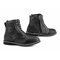 FALCO RANGER LEATHER RETRO URBAN WATERPROOF MOTORCYCLE BOOT WITH ZIP EASYFIT