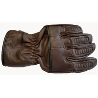 RST ROADSTER 2 PREMIUM QUALITY SOFT LEATHER RETRO CRUISER GLOVES BROWN