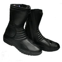 ADVENTURER LEATHER WATERPROOF TOURING MOTORCYCLE LEATHER BOOT