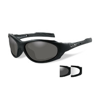 Wiley X XL-1 Advanced Interchangeable Lens Motorcycle Safety Sunglasses